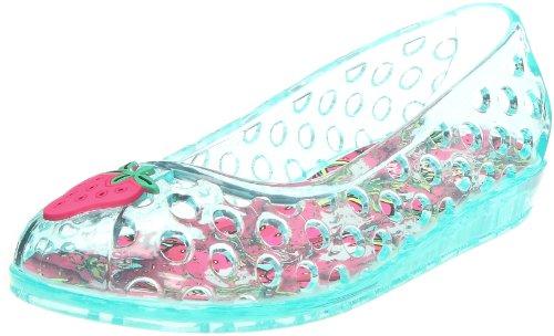 Colors of California Ballerina Jelly traforata, Unisex - Kinder Ballerinas Türkis (Aqua)