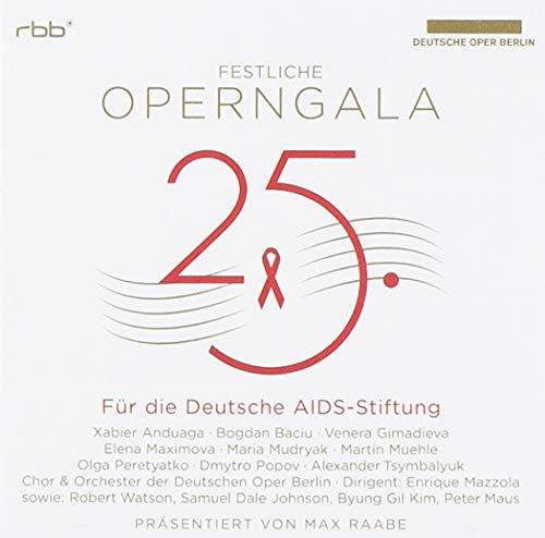 25.Festliche Operngala Für die Aids-Stiftung [Import allemand]