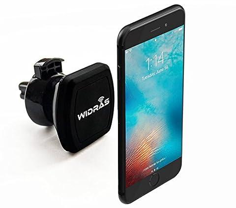Widras Grille d'aération magnétique support voiture téléphone portable support universel Cradle pour smartphone iPhone 77Plus/6S Plus/6S/6/Galaxy S7/S7Edge/Edges6/S6Edge/Galaxy Note 5/Nexus 6/GPS mobiles