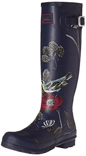 Joules Women's Wellyprint Floral Wellington Boots