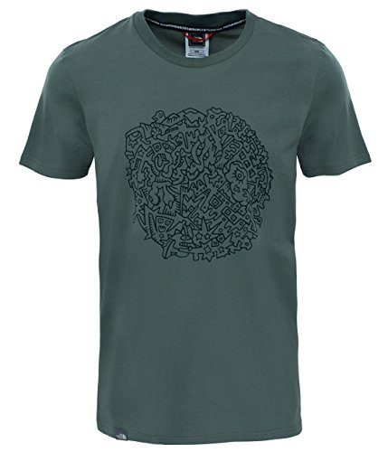 north-face-m-s-s-nse-series-camiseta-de-manga-corta-hombre-multicolor-thyme-xl