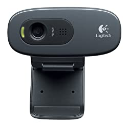 Webcam C270 Black HD