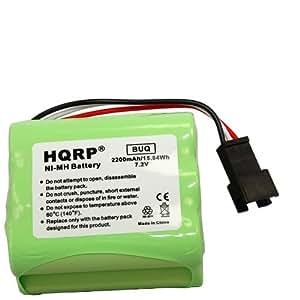 HQRP Batterie pour Teac 2200mAh R-1 R-2 R-5 R-12 Portable AM/FM-BP R1 BP-R2 BP-R5–BP R12EU de rechange