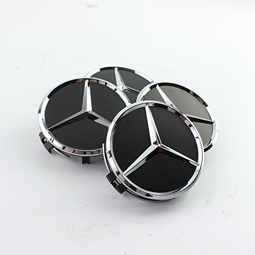 4x75mm-coprimozzo-for-mercedes-benz-cerchi-in-lega-borchie-tappi-cerchi-nero