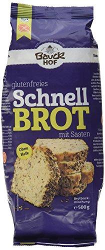 Bauckhof Schnellbrot glutenfrei, 500 g