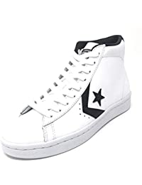 Converse Women s Ctas Chuch Taylor All Star Pl 76 Mid White black white 6 2697ebe03643c