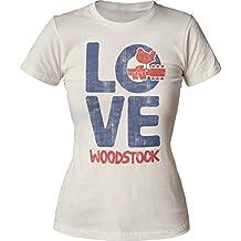 Woodstock Das Liebes-T-Shirt der Frauen