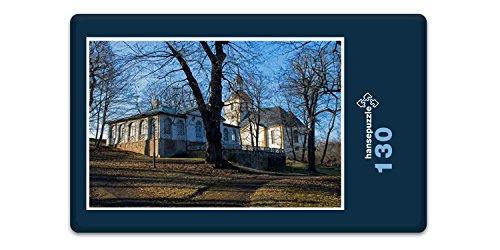 hansepuzzle 21996 Orte - Schloss in Thüringen, 130 Teile in hochwertiger Kartonbox, Puzzle-Teile in wiederverschliessbarem Beutel