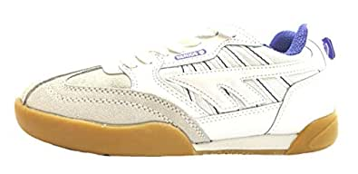 Size 7.5 Hi-tec Women's Squash Classic Composition Leather Trainers