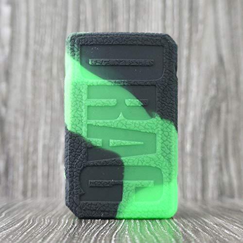 Skin Kit-grün (CEOKS für Voopoo Drag 2 177W kit Hülle, RutschfestSchützende Silikon-Hülle-Abdeckungs-Verpackungs-Haut für Voopoo Drag 2 177W Segeln Skin Ärmel Case Cover (Schwarz-Grün))
