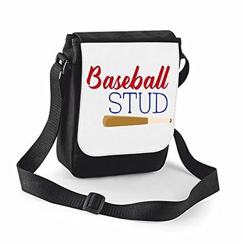 Baseball Stuff Statement Shoulder Bag -