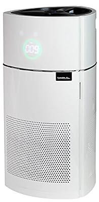 Comedes Luftreiniger Lavaero 900 mit 5-Stufen-Filter, HEPA-Kombifilter inkl. Aktivkohlefilter und Ionisator, Luftqualitätssensor, Ideal für Allergiker und Raucher, für Räume bis 60m²