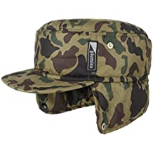 Lipodo Gorra Militar Camouflage con Orejeras Hombre  ad8bded15a5