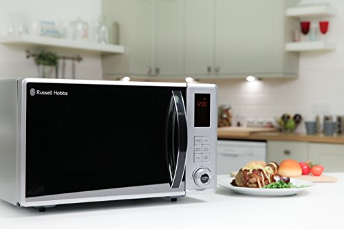 Russell Hobbs RHM2362S 23L Digital 800w Solo Microwave Silver