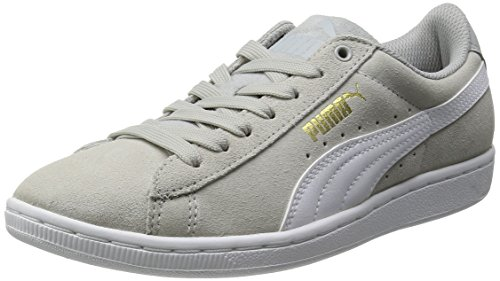 Puma Puma Vikky, Damen Basketballschuhe, Grau (gray violet-white 01), 35.5
