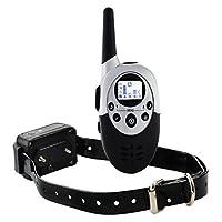 Tera M86 collier de dressage de chien électrique rechargeable hautement étanche télécommandé sans fil à portée de 1000 mètres avec LCD écran