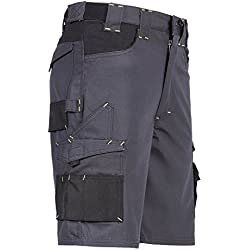 North Ways - Bermuda de travail homme Hugues North Ways - 1205 - Gris Noir, 40