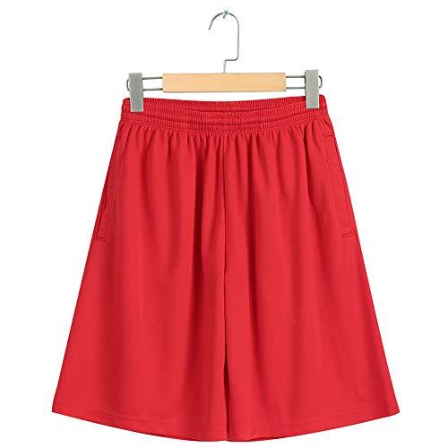 GIRLAA Herren Multi Pocket Casual Hosen Sommer Herren Baumwolle Lose Strand Shorts Sporthosen Sport Strand Freizeit