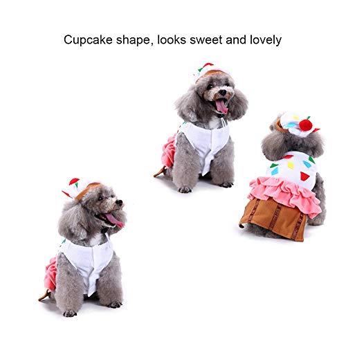 feiledi Trade Weihnachts-Kostüm für Haustiere mit Hut, Hund und ()