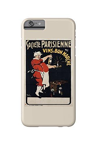societe-parisienne-des-vins-a-bon-marche-vintage-poster-artist-grun-france-iphone-6-plus-cell-phone-