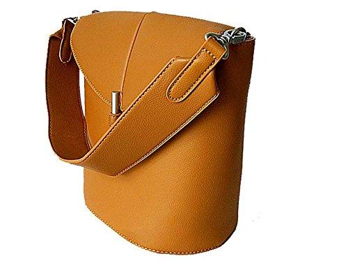 InStyle Bags , Damen Schultertasche One Size Braun