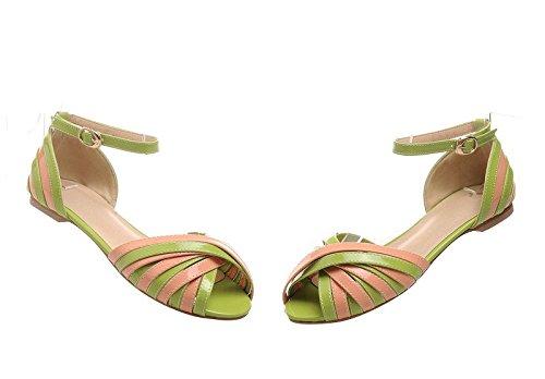 Guoar , chaussons d'intérieur femme Vert - Vert