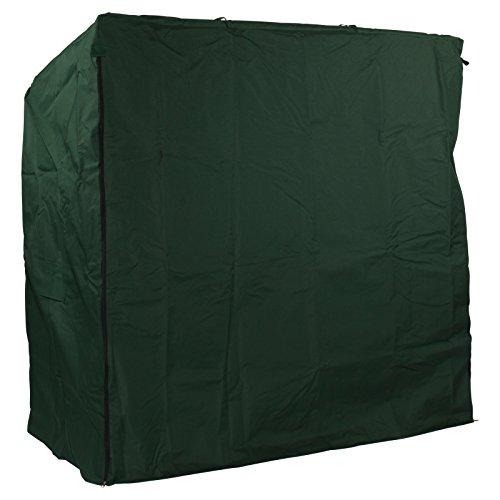 Premium Schutzhülle für Ihren Strandkorb aus Oxford 600D Polyestergewebe, Garten Möbel Strandstuhl Abdeckung, 150cm breite Abdeckhaube winterfest, Strandkorbplane Farbe grün