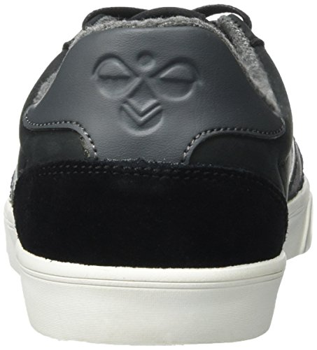 hummel Slimmer Stadil Duo Oiled Low, Sneakers Basses Mixte Adulte Noir (Black)