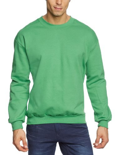 anvil-sweat-shirt-col-ras-du-cou-manches-longues-homme-vert-grn-gap-green-apple-fr-large-taille-fabr