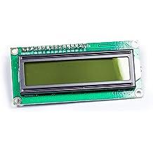 IIC I2C 160216X 2HD44780caracteres LCD Display BL amarilla para Arduino Raspberry Pi