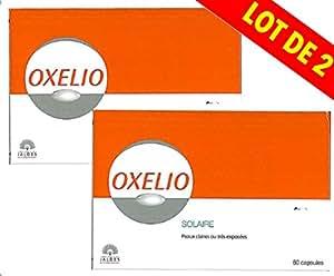 Oxelio - Solaire Peaux Claires ou trés exposées - Lot de 2 x 60 Capsules
