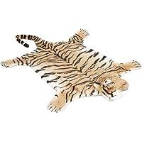 Tigre pelle marrone 200 cm x 120