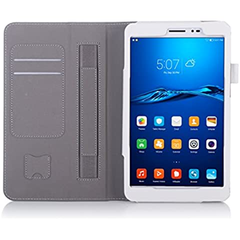 ISIN Tablet Fall Serie Premium PU-Leder Schutzhülle für Huawei Honor Pad 2 8.0 Zoll Full HD WiFi 4G LTE Android 6.0 Marshmallow Tablet PC 2016
