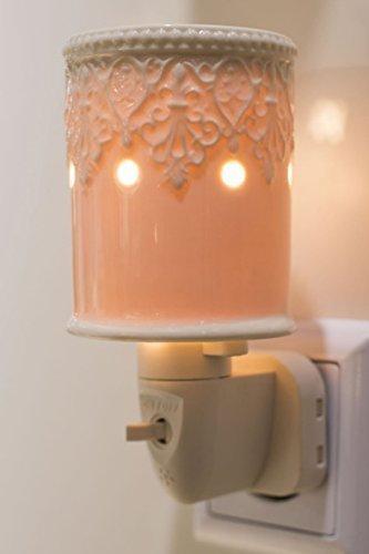 Duftlampe Paarl, weiss, elektrisch inkl. Birne Stövchen Wärmer Duftlampe