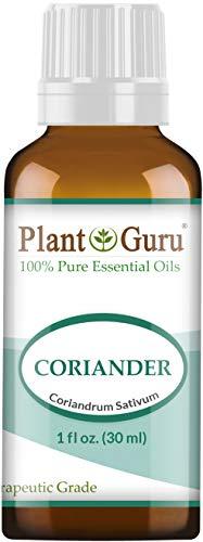 Coriander Essential Oil 30 ml. 100% Pure, Undiluted, Therapeutic Grade. by Plant Guru par