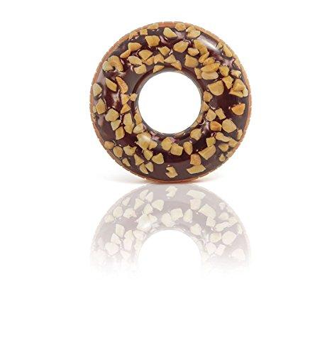 Intex aufblasbarer Schwimmreifen Tube Schokoladen Donut Ø114cm