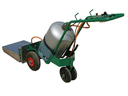 2EBALM Machine de désherbage Charotherm 3760113030345 Vert/Noir/Orange 90 x 80 x 90 cm 40100