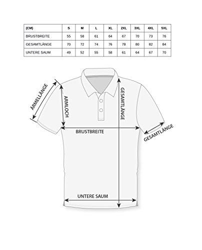 UNCS Herren Poloshirt S-5XL Flag neue Kollektion 2017 Schwarz