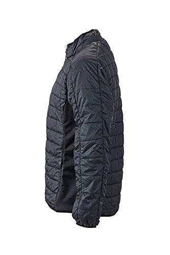 James & Nicholson–Hybrid Jacket Giacche nero