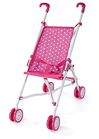 Bayer Design 30168AA - Puppen-Buggy, rosa