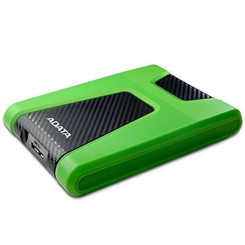 Adata AHD650X-2TU3-CGN 1TB External Hard Disk Green Price in India