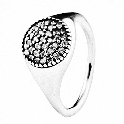 Changeable anelli da donna argento sterling 925 misura anello 12 (amore passionale)