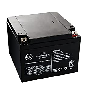 Power-Sonic PS-12260 12V 26Ah Wheelchair Battery - This is an AJC Brand® Replacement