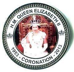 HM Königin Elizabeth II Bei Ihrer Krönung 1953-2013, Münzen für Sammler)