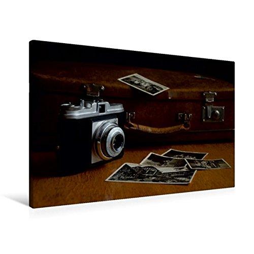 Premium Textil-Leinwand 90 cm x 60 cm quer, Älteres Modell einer Kleinbildkamera | Wandbild, Bild auf Keilrahmen, Fertigbild auf echter Leinwand. historischen Fotoapparats (CALVENDO Hobbys)