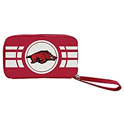 NCAA Arkansas Razorbacks Ripple Zip Wallet
