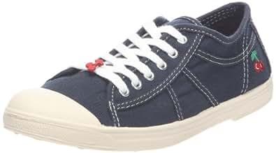 Le Temps des Cerises Basic 02, Sneakers Basses femme, Bleu (Navy), 36 EU