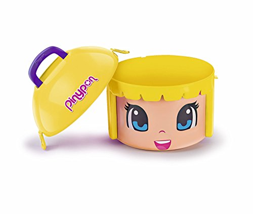 Pinypon- Maxi Box Contenedor, Color Rubia (Famosa 700014085)