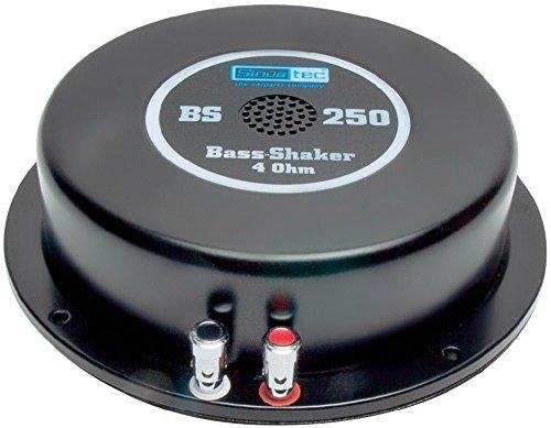 Sinustec Bass-Shaker ST-BS250 4 Ohm Homehifi Higth End Kino Körperschallerzeuger Bassshaker Bass Shaker Bodyshaker Hifi Bassbody Butt Kicker Körperschallwandler Heimkino