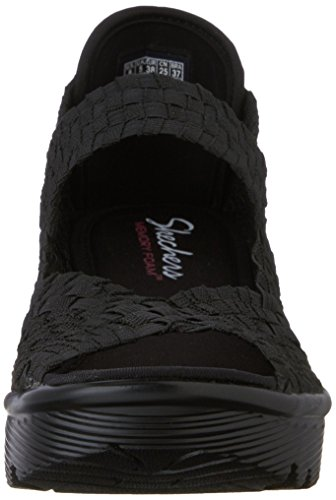 Skechers Parallel, chaussures femme Noir - Noir